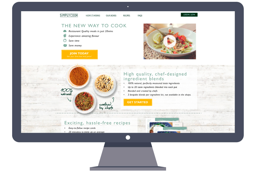simplycook-website