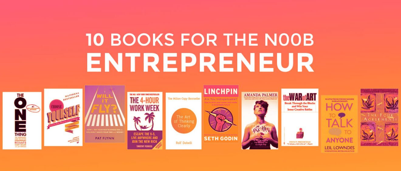 10 books for the n00b entrepreneur