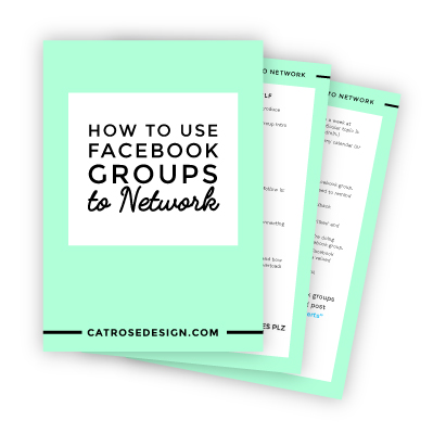 This post digs into the actual psychology of why Facebook groups are SO perfect for networking - and how us introverts can use them to our advantage. Click to read more or PIN to save for later!