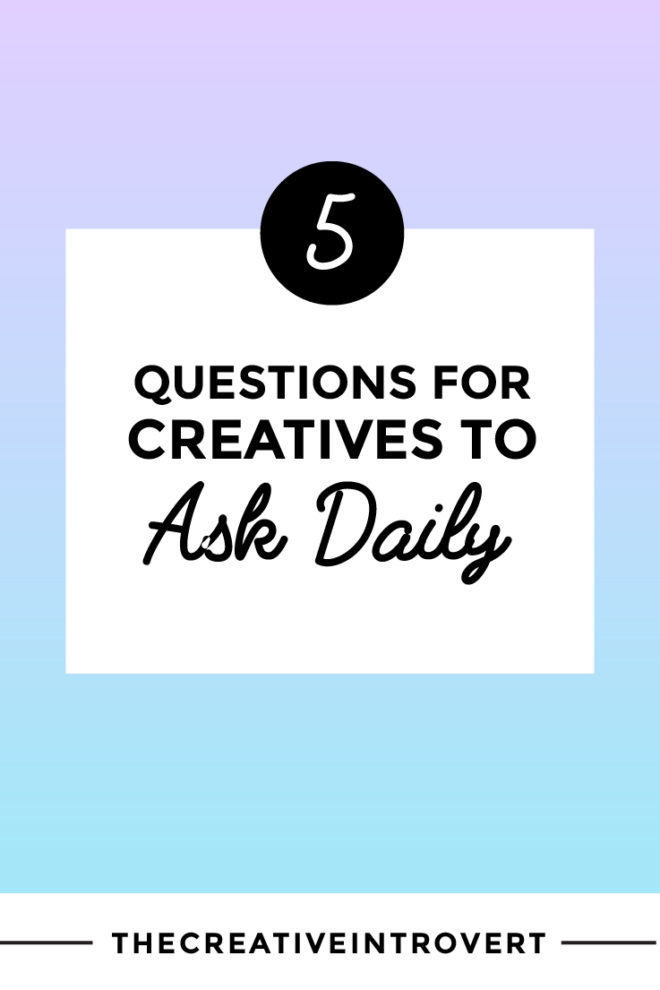 I've come up with a few default questions I can go to, when I need a break from my monkey-mind, and get in touch with that inner guide we all have. Click through to read the 5 questions I use to tap into my creative intuition >>