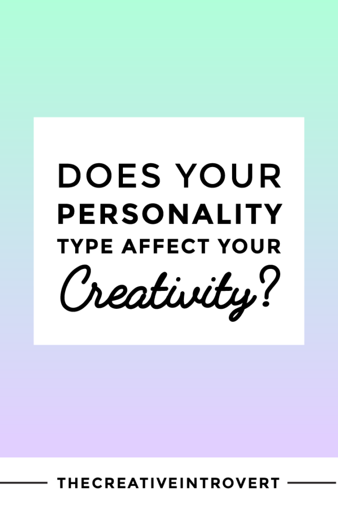 Does Personality Affect Creativity? Get Your FREE Custom Creative Type Report >>