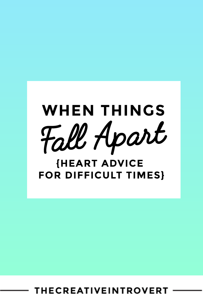 When things fall apart: advice from Pema Chodron
