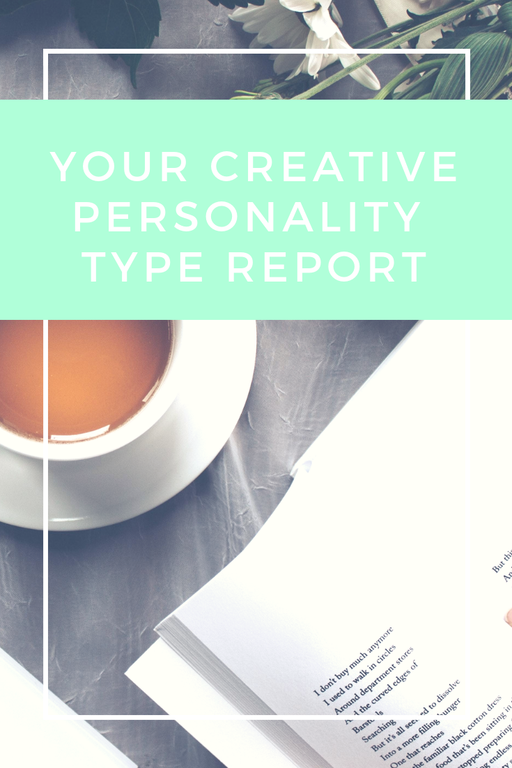 Your Creative Personalty Type