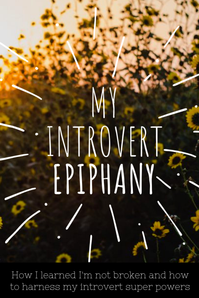My introvert epiphany